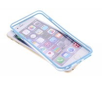 Turquoise transparante bumper iPhone 6(s) Plus