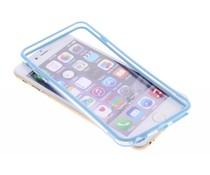 Turquoise transparante bumper iPhone 6(s) Plus