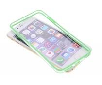 Groen transparante bumper iPhone 6(s) Plus
