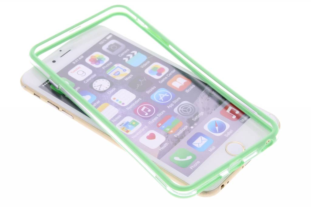 Groen transparante bumper voor de iPhone 6(s) Plus
