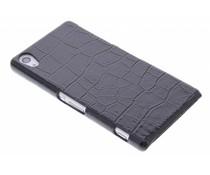 Zwart krokodil design hardcase Sony Xperia Z2