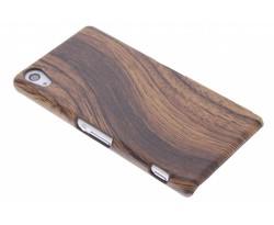 Hout design hardcase hoesje Sony Xperia Z2