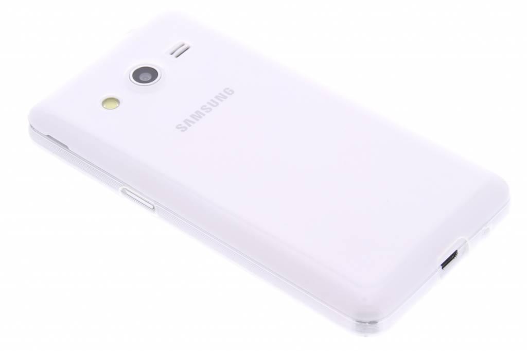 Ultra thin transparant TPU hoesje voor de Samsung Galaxy Core 2