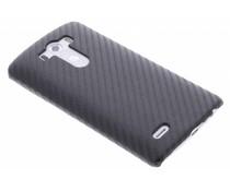 Zwart carbon look hardcase hoesje LG G3