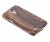 Hout design hardcase Samsung Galaxy S4 Mini