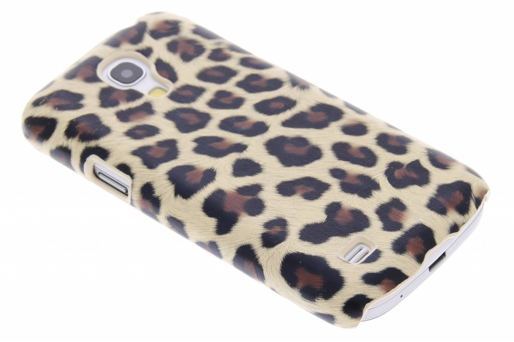 Bruin luipaard design hardcase hoesje voor de Samsung Galaxy S4 Mini