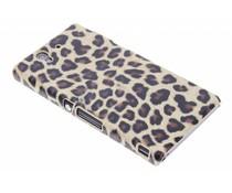 Luipaard design hardcase hoesje Sony Xperia Z