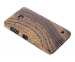 Hout design hardcase hoesje Nokia Lumia 630 / 635