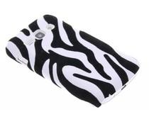 Zebra flock hardcase Samsung Galaxy Ace 3