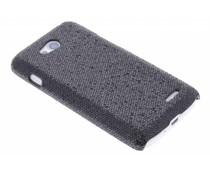Zwart glamour design hardcase hoesje LG L90