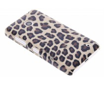 Luipaard design hardcase hoesje Nokia Lumia 630 / 635