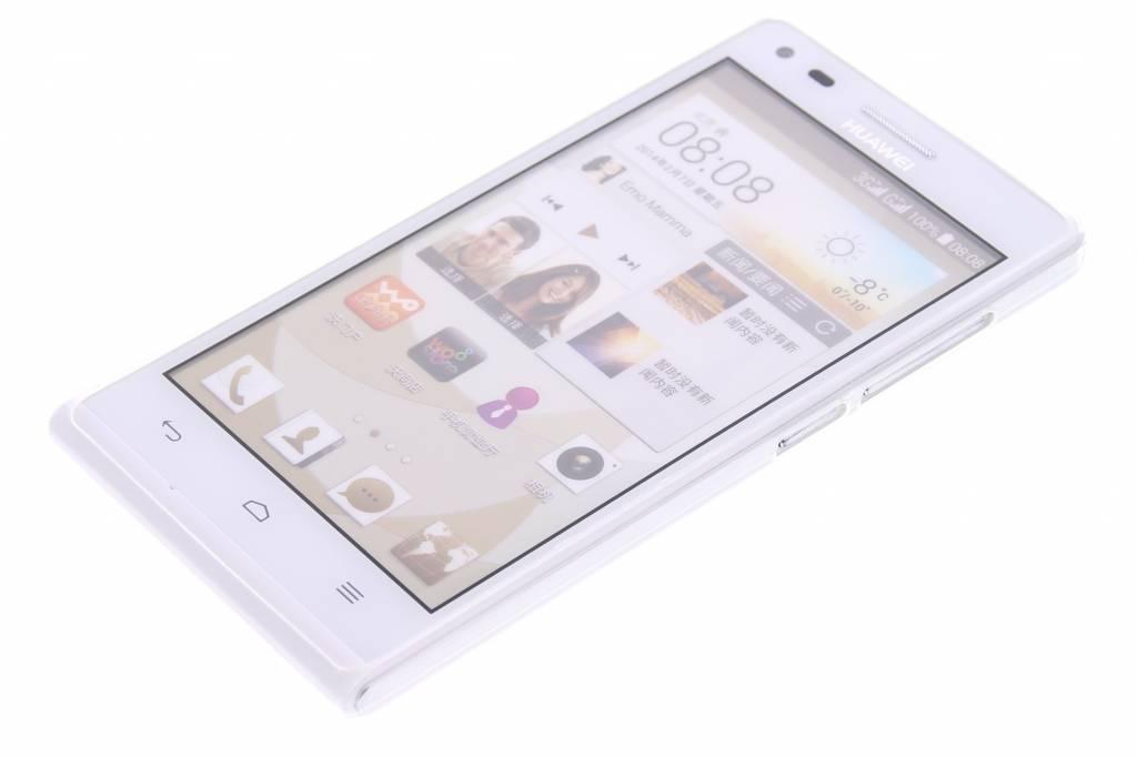 Coque Tpu Ultra Mince Transparent Pour Huawei Ascend G6 DcQuq