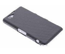 Carbon look hardcase Sony Xperia Z1 Compact