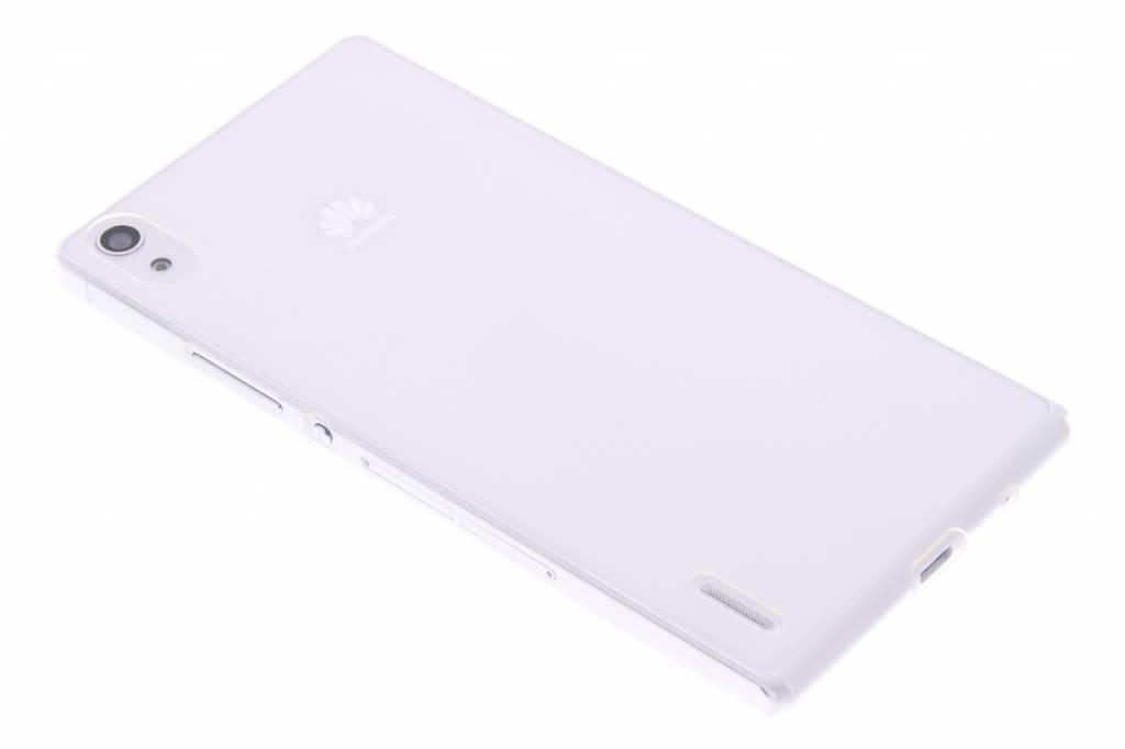 Ultra thin transparant TPU hoesje voor de Huawei Ascend P7