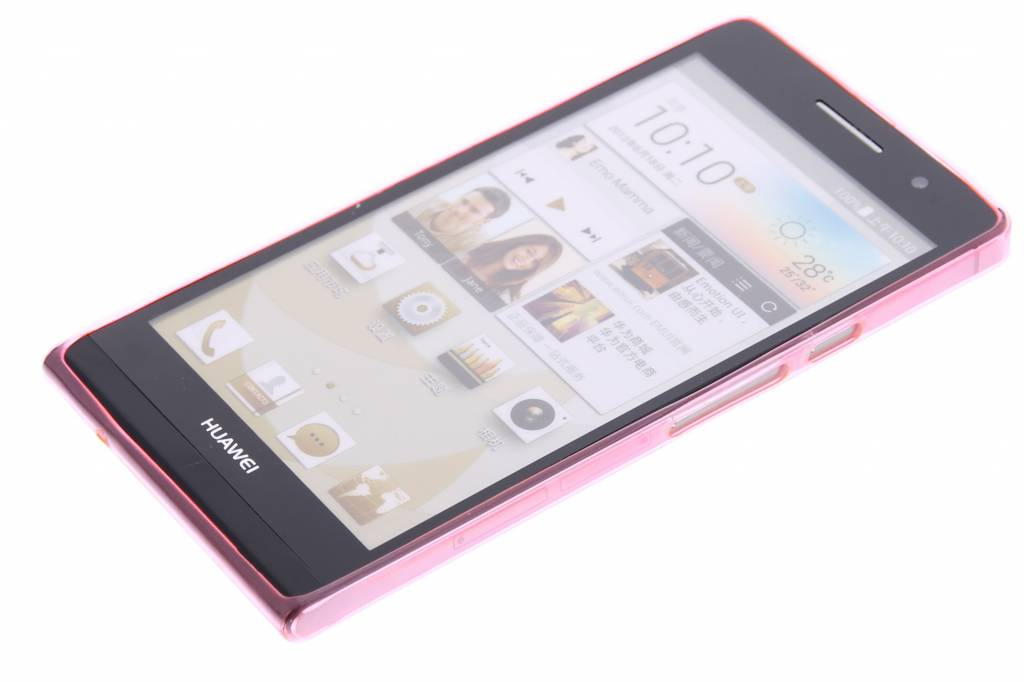 Ultramince Rose Coque Tpu Transparent Pour G6 Huawei Ascend AaKRmFW