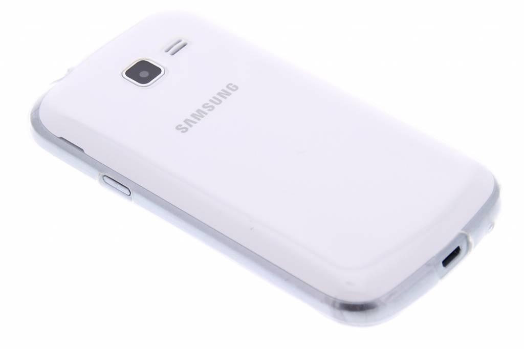 Ultra thin transparant TPU hoesje voor de Samsung Galaxy Trend Lite