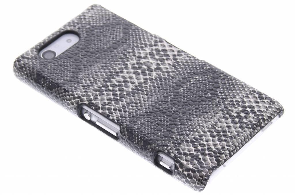 Zwart slangen design hardcase hoesje voor de Sony Xperia Z3 Compact