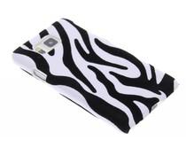 Zebra flock hardcase Samsung Galaxy Alpha