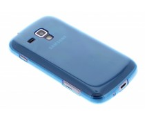 Blauw ultra thin transparant Galaxy S Duos / Trend (Plus)