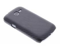 Carbon look hardcase Samsung Galaxy Trend Lite