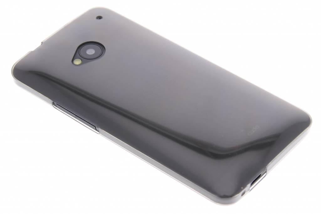 Grijs ultra thin transparant TPU hoesje voor de HTC One