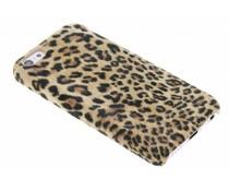 Luipaard flock hardcase hoesje iPhone 5c