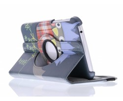 360° draaibare design tablethoes Samsung Galaxy Tab 3 7.0