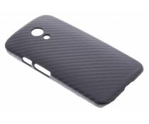 Carbon look hardcase Motorola Moto G 2nd Gen 2014
