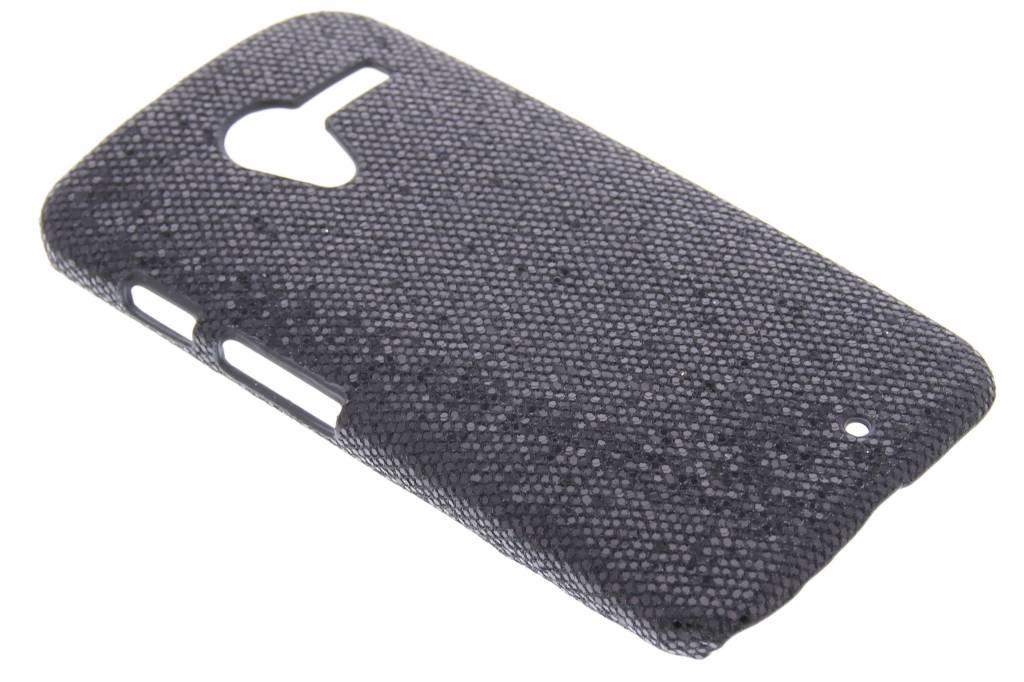 Zwart glamour design hardcase hoesje voor de Motorola Moto X