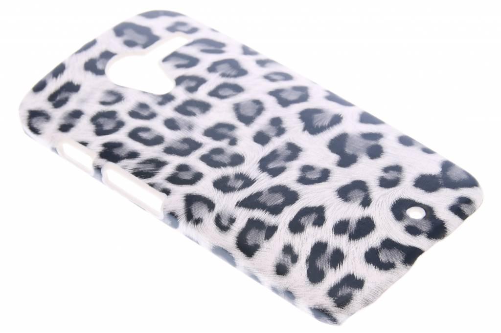 Grijs luipaard design hardcase hoesje voor de Motorola Moto X