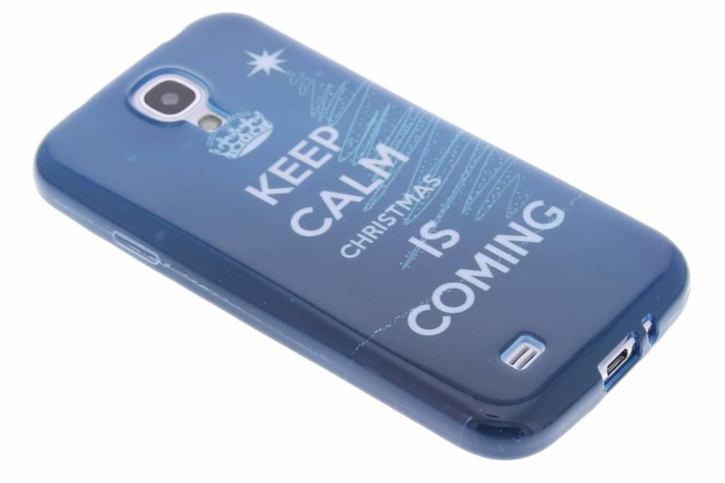Christmas Edition TPU siliconen hoesje voor de Samsung Galaxy S4