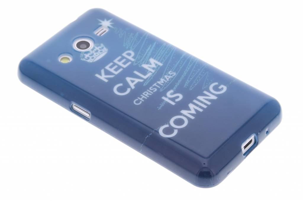 Christmas Edition TPU siliconen hoesje voor de Samsung Galaxy Core 2