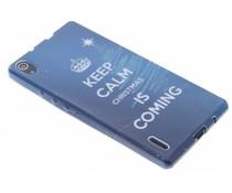 Christmas Edition TPU hoesje Huawei Ascend P7