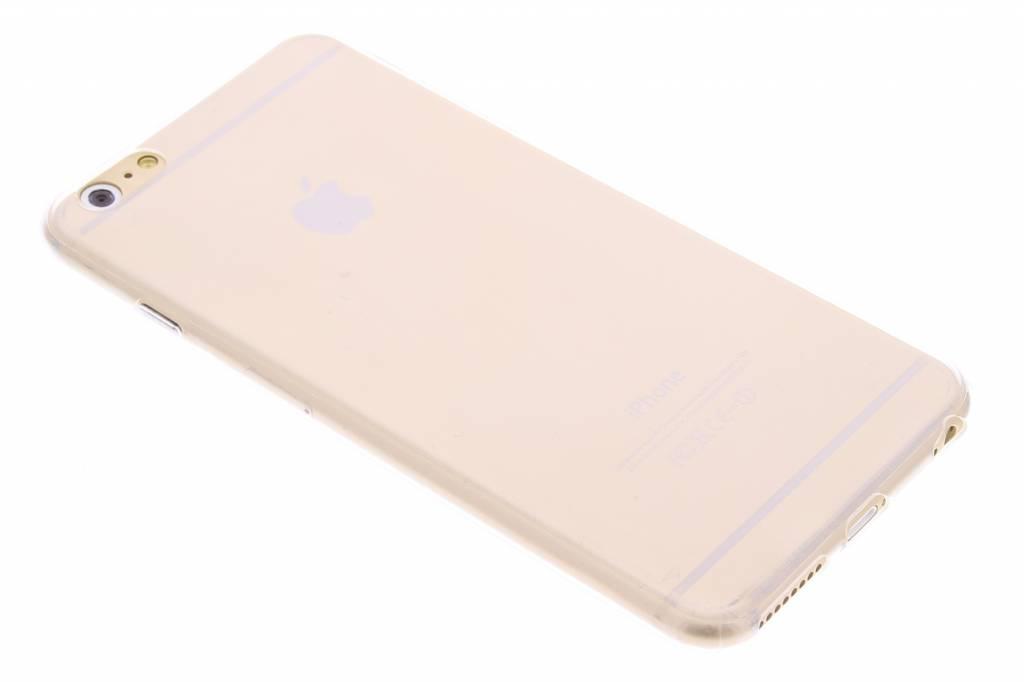 Ultra thin transparant TPU hoesje voor de iPhone 6(s) Plus