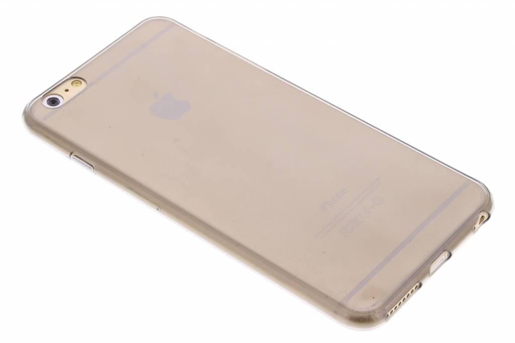 Grijs ultra thin transparant TPU hoesje voor de iPhone 6(s) Plus