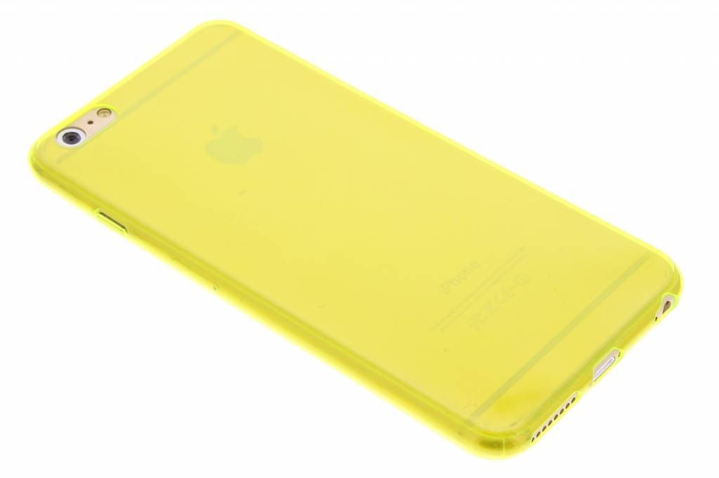 Lime ultra thin transparant TPU hoesje voor de iPhone 6(s) Plus