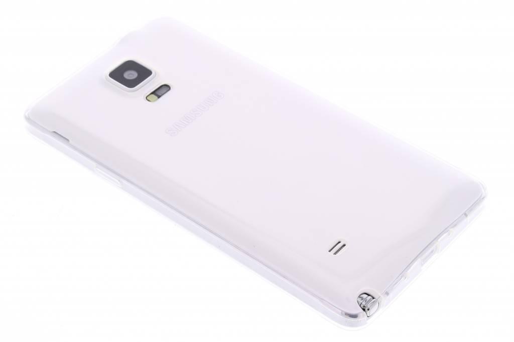 Ultra thin transparant TPU hoesje voor de Samsung Galaxy Note 4