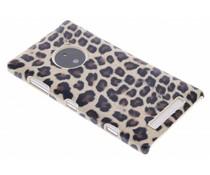 Luipaard design hardcase hoesje Nokia Lumia 830