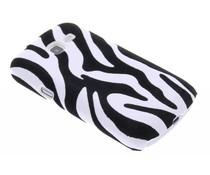 Zebra flock hardcase Samsung Galaxy Trend Lite