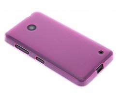 Fuchsia hard siliconen hoesje Nokia Lumia 630 / 635