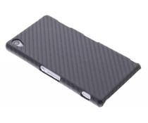 Zwart carbon look hardcase hoesje Sony Xperia Z3