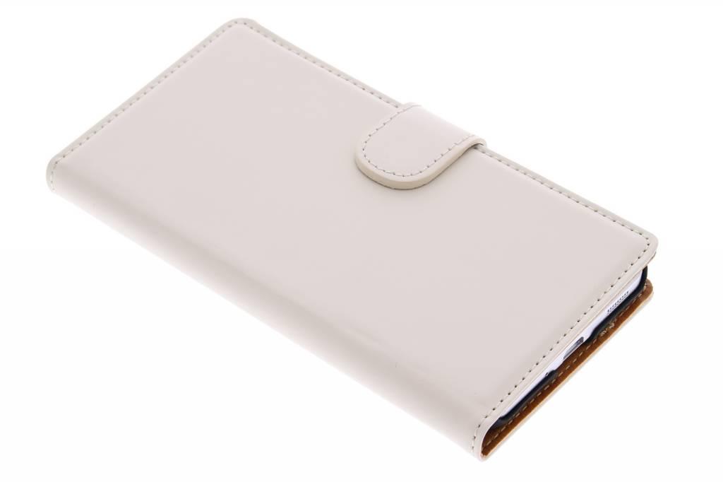 Mobiparts Premium Wallet Case voor de Samsung Galaxy Alpha - White