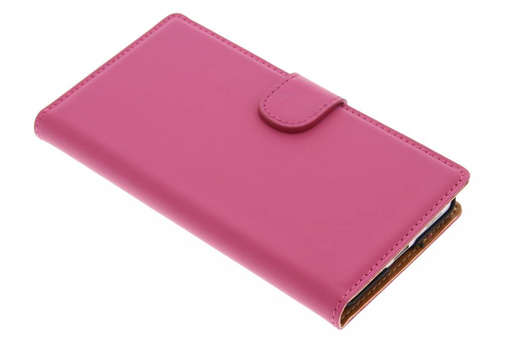 Mobiparts Premium Wallet Case voor de Samsung Galaxy Alpha - Pink