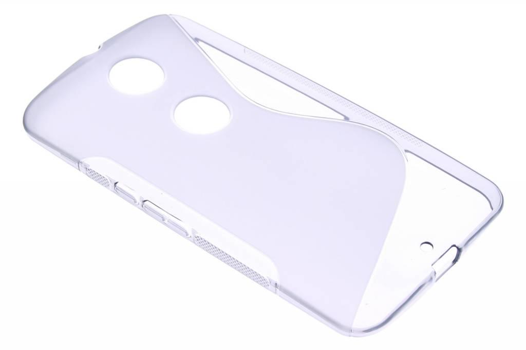 Grijs S-line TPU hoesje voor de Motorola Nexus 6