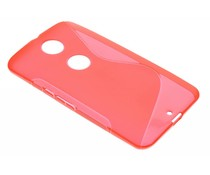 Rood S-line TPU hoesje Motorola Nexus 6