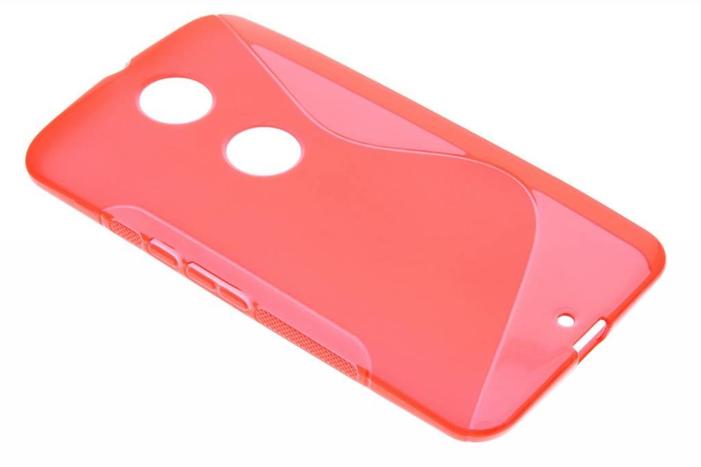 Rood S-line TPU hoesje voor de Motorola Nexus 6