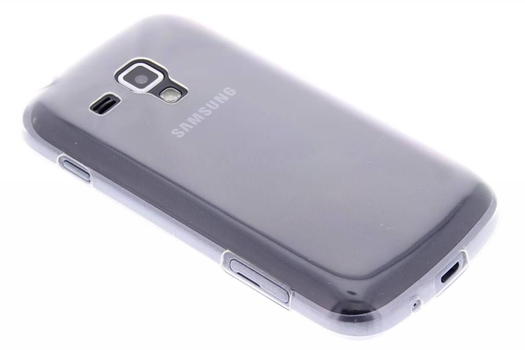 Ultra thin transparant TPU hoesje voor de Samsung Galaxy S Duos / Trend (Plus)