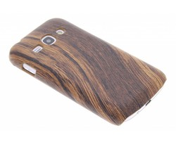 Hout design hardcase hoesje Samsung Galaxy Ace 3