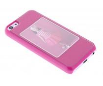 Fuchsia fotolijst hardcase iPhone 5c