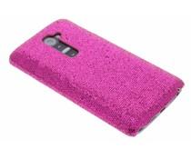 Fuchsia glamour design hardcase hoesje LG G2